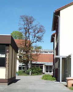 Eingang vom Glockenberg