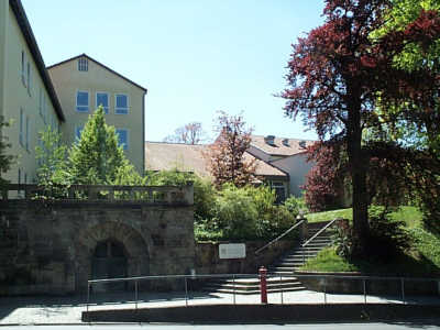 Eingang Seidmannsdorfer Straße