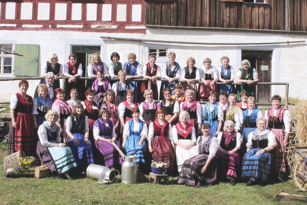 Gruppenbild 2014 in Kleinlosnitz